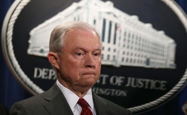 Jeff Sessions, fiscal general de Estados Unidos./Afp