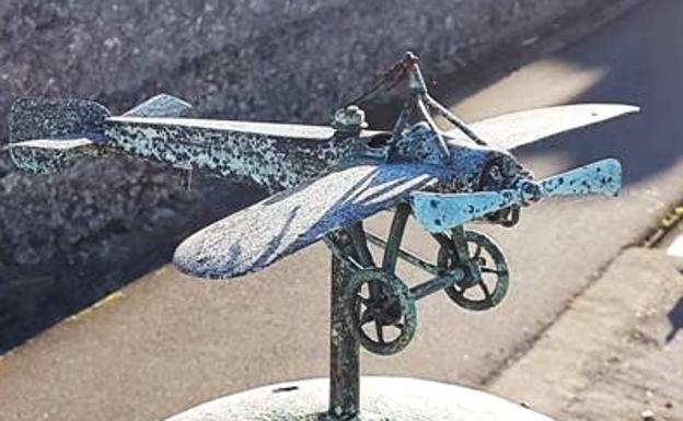 El avión de Salvador Hedilla.
