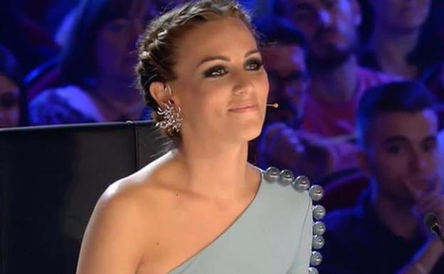 Edurne en 'Got Talent España'./Mediaset