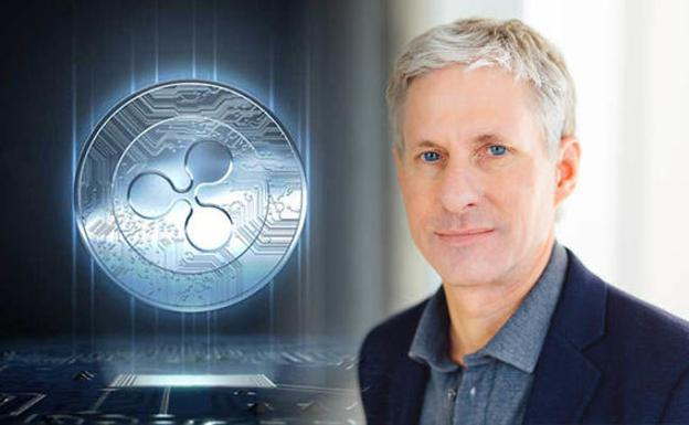Chris Larsen, cofundador de la moneda virtual Ripple.