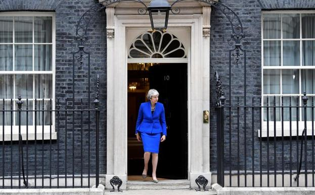Theresa May./Toby Melville (Reuters)