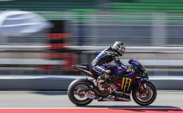 Maverick Viñales. /Reuters