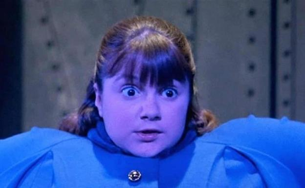 Denise Nickerson, Violeta en «Willy Wonka y la Fábrica de Chocolate»./