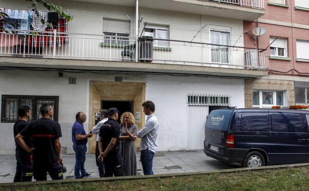 Edificio de La Inmobiliaria donde se produjo el crimen.