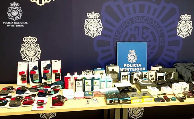 Detenido por hurtar más de 5.000 euros en artículos en un centro comercial de Nueva Montaña
