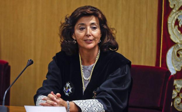 La juez Espejel, recusada en 'Gürtel', nueva magistrada del TC